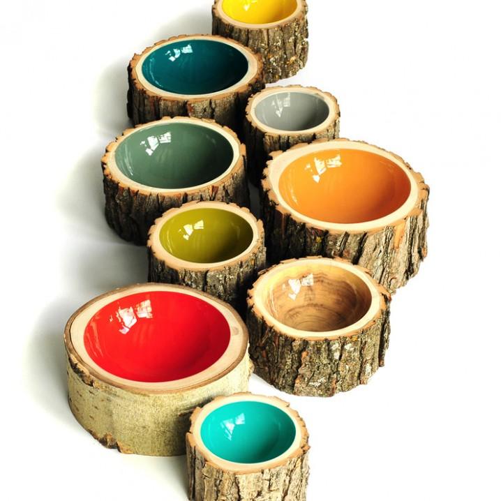 log bowl