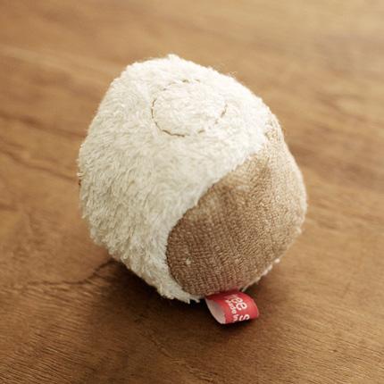 犬用オーガニックコットンおもちゃ「オーガニックコットントイ」ボウル