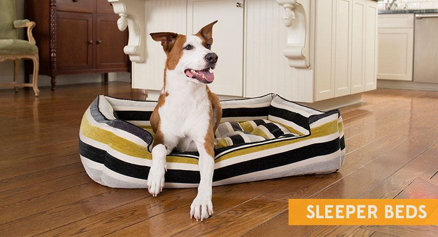 犬用ベッドの犬用ベッド「JAX&BONES」は安眠できるデザイン