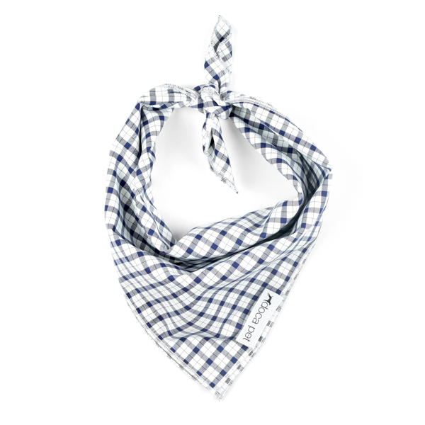 Blue-Plaid-Bandana