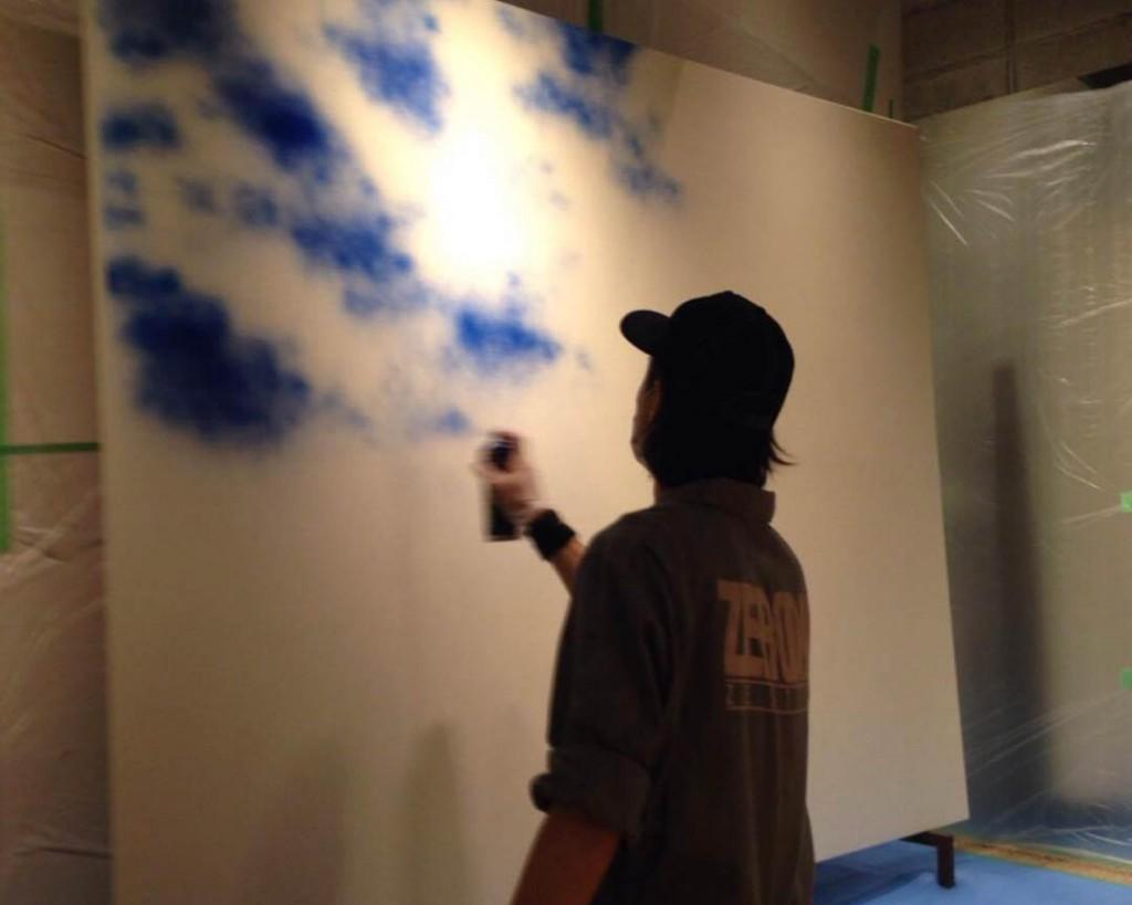 azi-rakugaki-blue