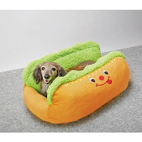 Weiner Dog Hot Dog Bun Bed