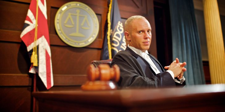 From ITV Studios   JUDGE RINDER  Weekdays on ITV   Pictured: ITV's Judge Richard Rinder   Rob Rinder is an exceptional British barrister who has instructed some of the most high profile cases of recent years, including the New YearÕs Eve shootings of Leticia Shakespeare and Charlene Ellis and the manslaughter of Iraqi detainees by British soldiers.   In his brand new second series for ITV Daytime, Judge Rinder is bringing the action of a courtroom to television and bringing justice to those whoÕve been wronged. He will adjudicate over real, small-claim cases in a studio courtroom. Each programme will see up to three different cases brought to Judge Rinder who will hear each case, question the claimant and defendant, assess the evidence and make a judgement on each case with a variety of cases for each show.   Judge Rinder reserves the right to throw the case, and the people, out of his court!  © ITV   For further information please contact Peter Gray  0207 157 3046 peter.gray@itv.com   This photograph is © ITV and can only be reproduced for editorial purposes directly in connection with the  programme Judge Rinder or ITV. Once made available by the ITV Picture Desk, this photograph can be reproduced once only up until the Transmission date and no reproduction fee will be charged. Any subsequent usage may incur a fee. This photograph must not be syndicated to any other publication or website, or permanently archived, without the express written permission of ITV Picture Desk. Full Terms and conditions are available on the website www.itvpictures.com